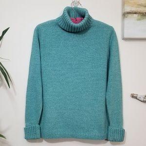 L L.BEAN turtleneck sweater M